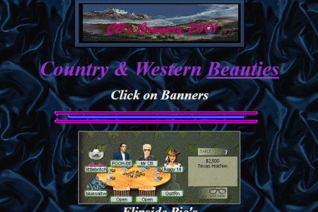 Country & Western Beauties in 2001