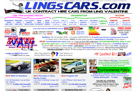 Ling's Cars in 2006