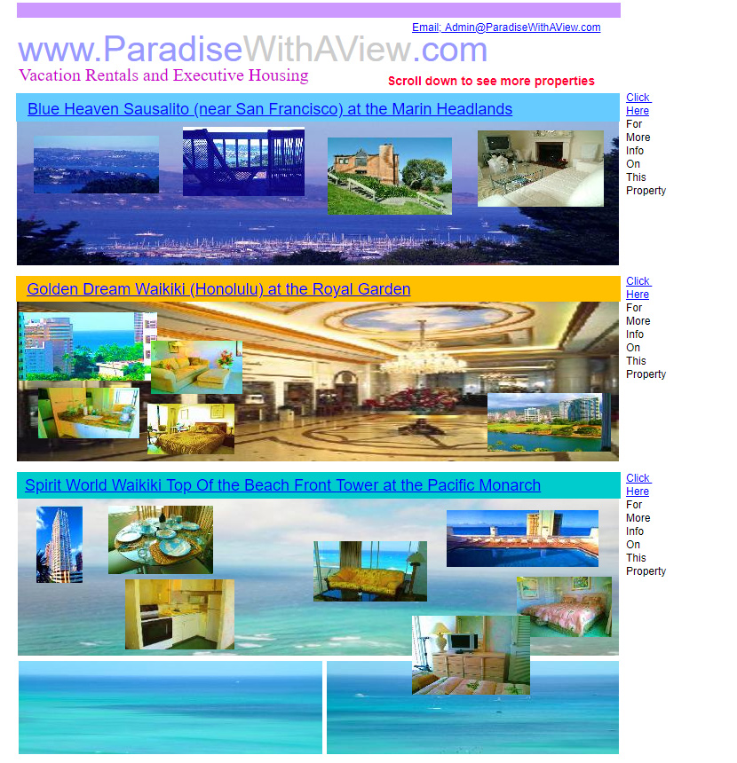 Paradise with a View in 2006