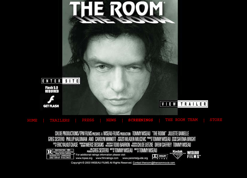The Room Movie in 2003