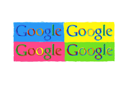 Google Doodle – Andy Warhol's 74th Birthday August 6, 2002