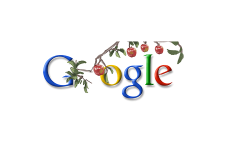 Google Doodle – Sir Isaac Newton's 367th Birthday January 4, 2010