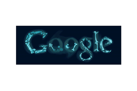 Google Doodle – Discovery of X-rays November 8, 2010