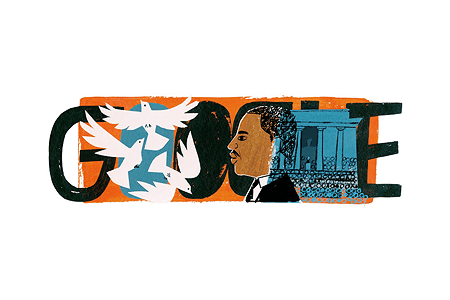 Google Doodle – Martin Luther King Jr. Day January 20, 2014