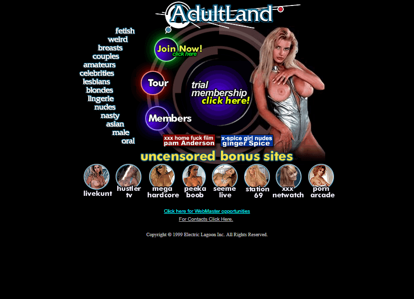 AdultLand in 1999