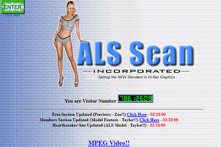ALS Scan in 2000