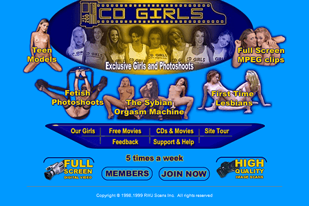 CD Girls in 1999