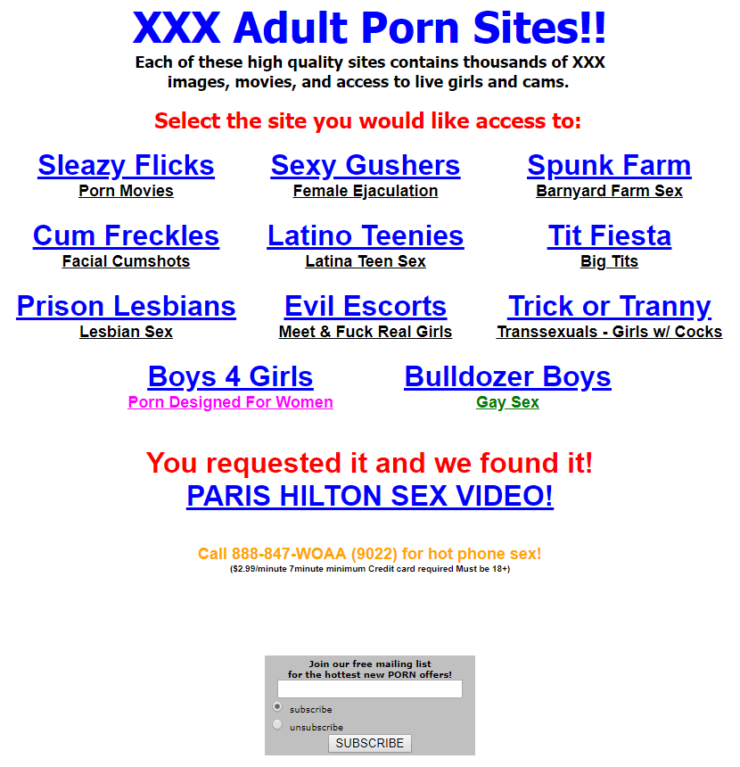 XVideos in 2003