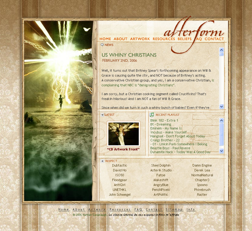 Alterform in 2006