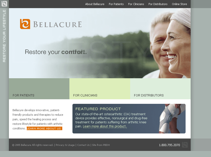 Bellacure in 2005