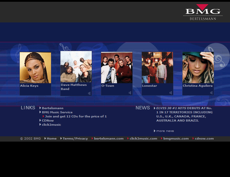 BMG.com in 2002
