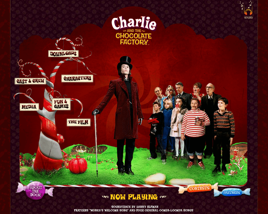 Charlie and the Chocolate Factory in 2005