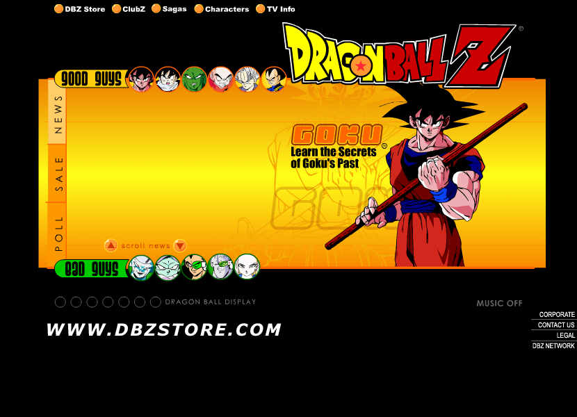 Dragon Ball Z in 2000