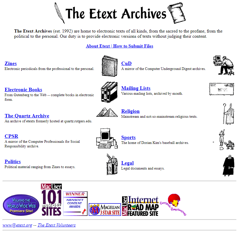 Etext in 1996