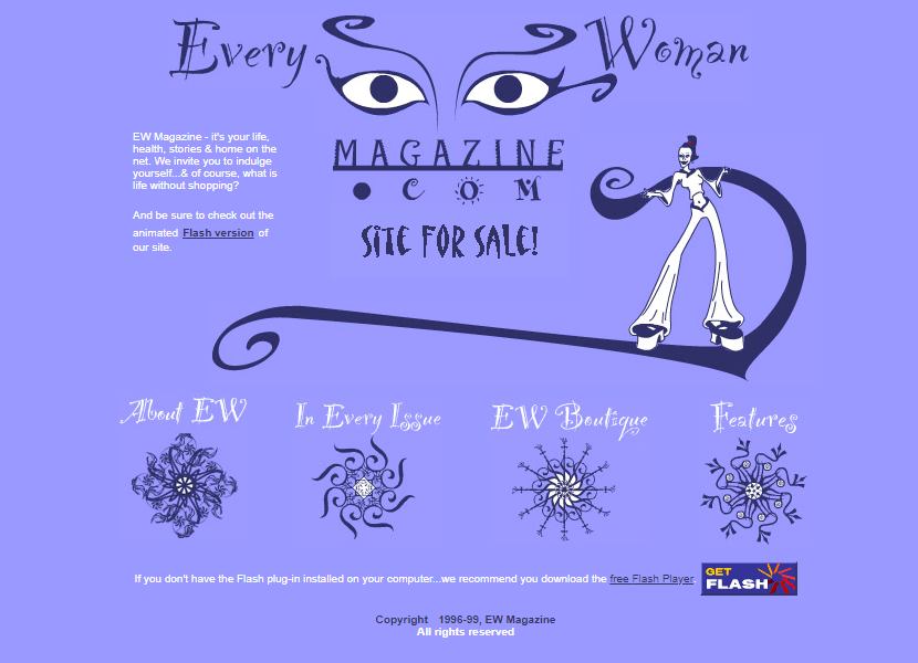 Every Woman Magazine in 1999
