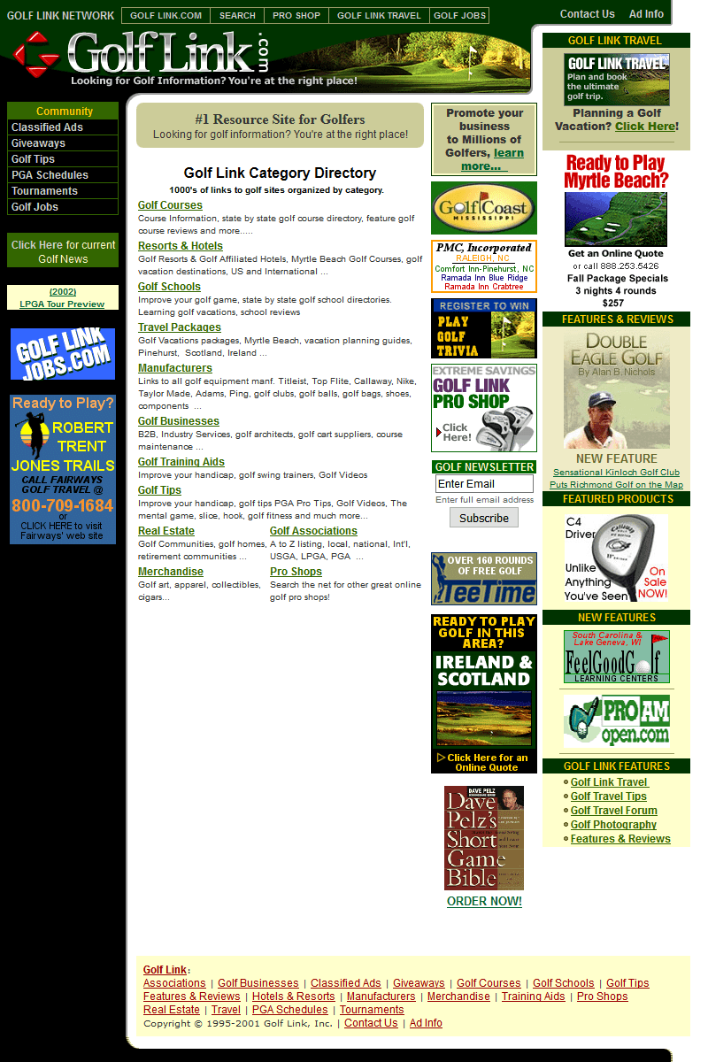 Golf Link in 2002