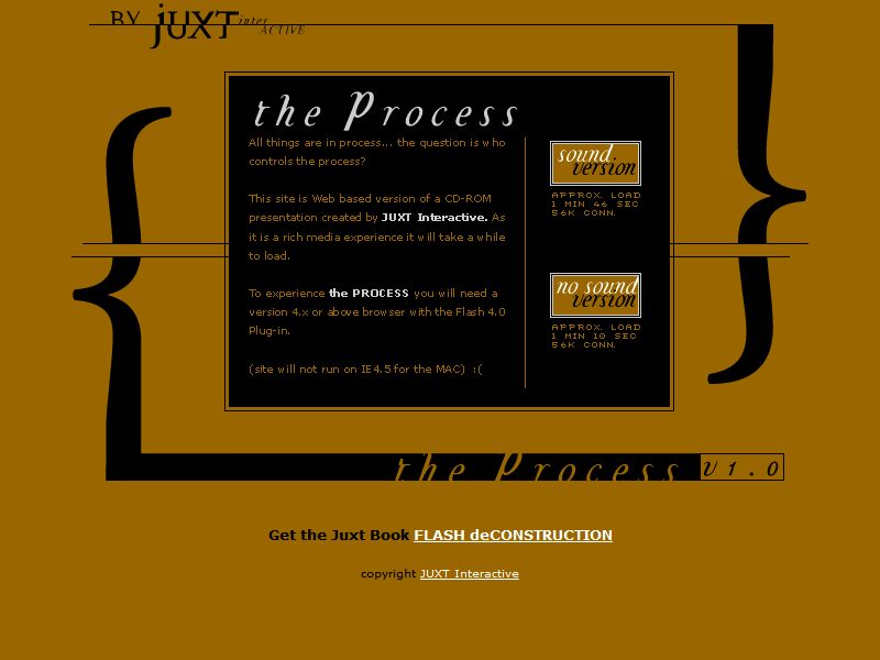 Juxt Interactive – The Process in 2002