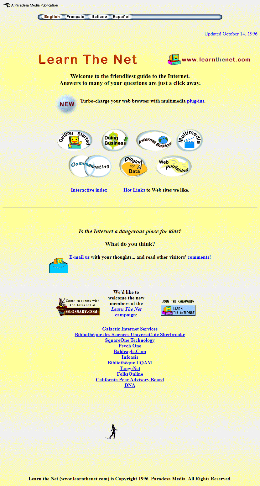 Learn the Net in 1996