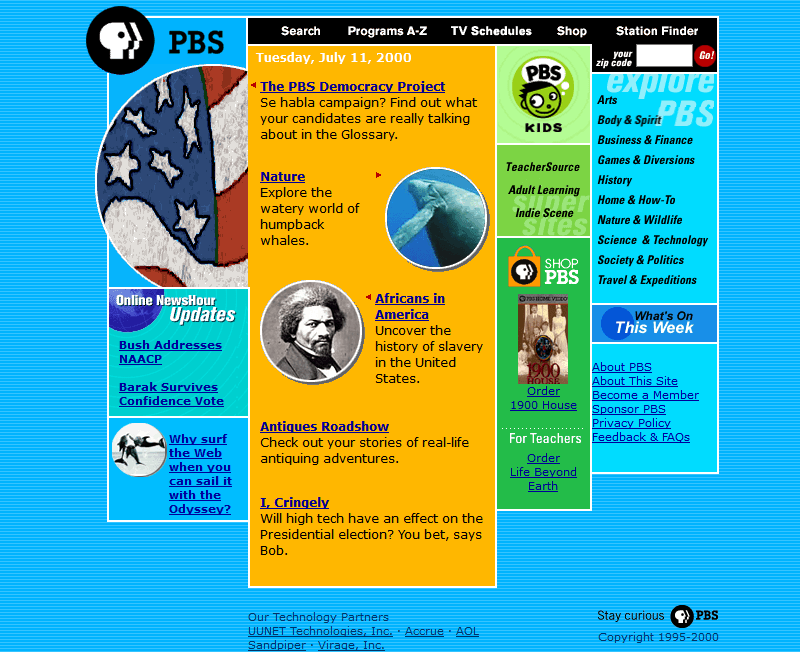 PBS.org in 2000