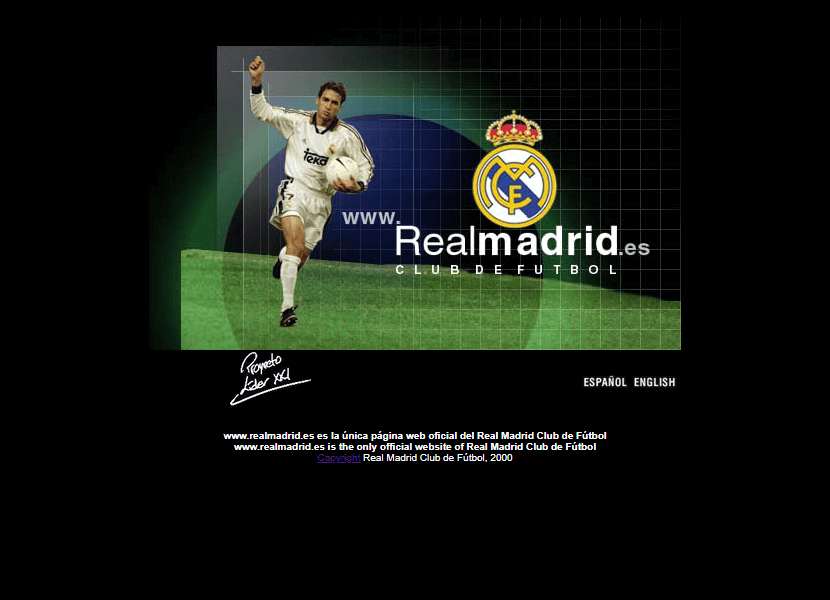 Real Madrid CF in 2000