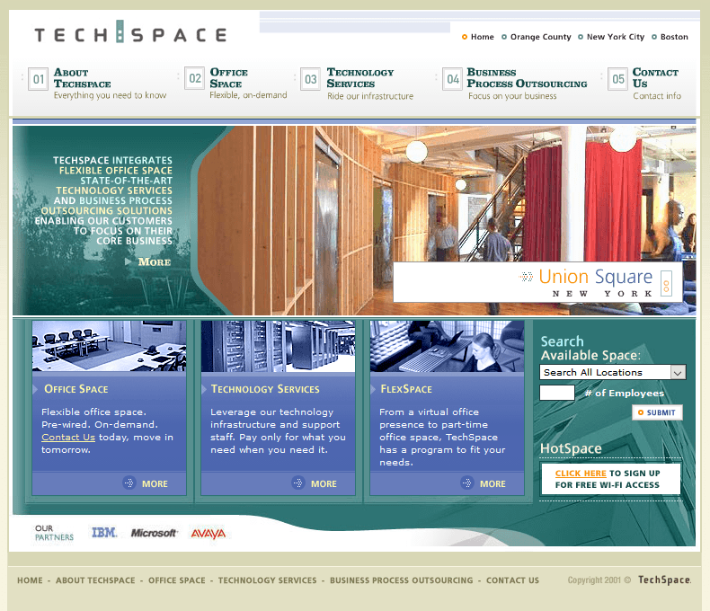 TechSpace in 2003