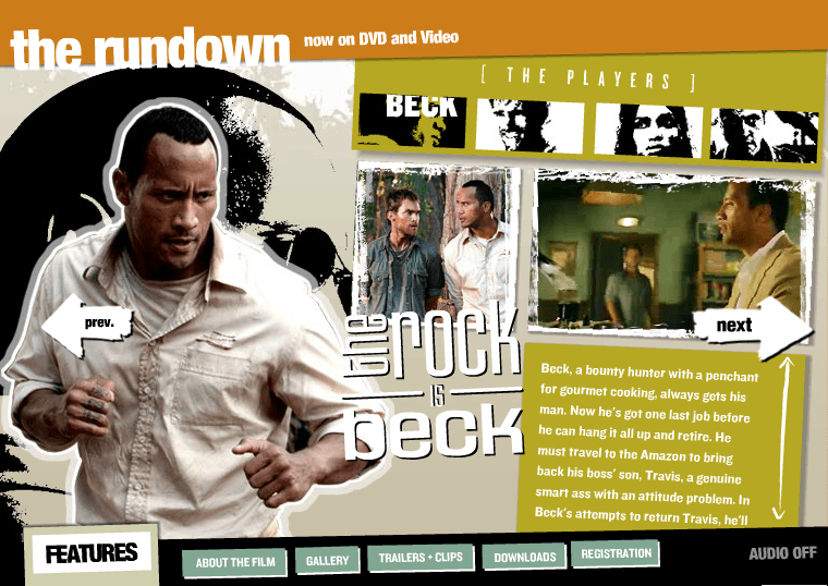 The Rundown in 2003