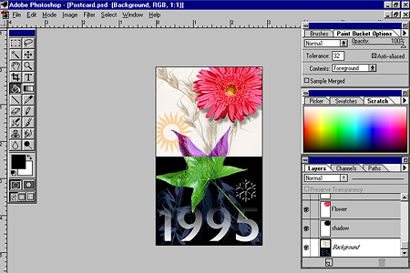 Adobe Photoshop 3.0 – Working with File