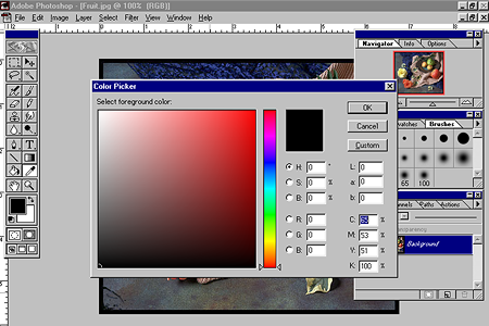 Adobe Photoshop 4.0 – Color Picker