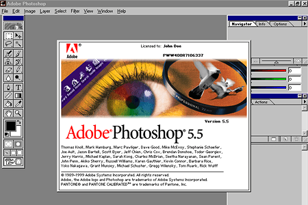 Adobe Photoshop 5.5