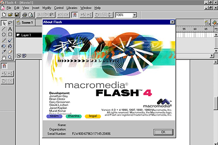 Macromedia Flash 4.0 | Web Design Museum