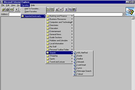 Internet Explorer 2.0 | Web Design Museum