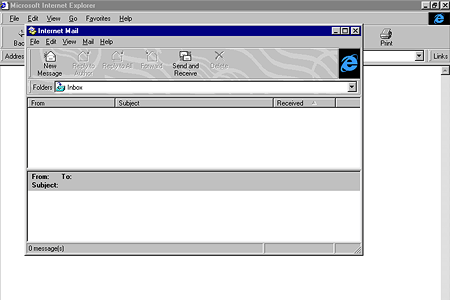 Internet Explorer 4.0 – Internet Mail