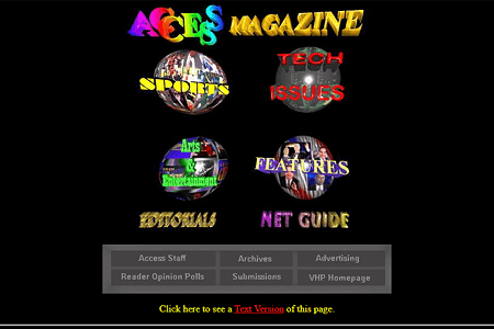 Access Magazine in 1995
