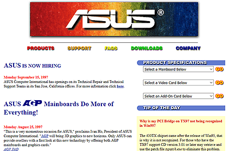 ASUS in 1997