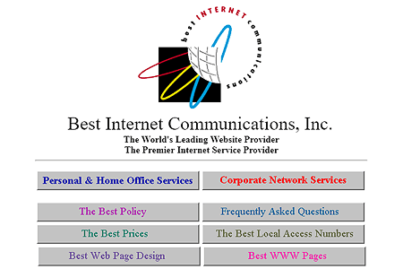 Best Internet Communications in 1995