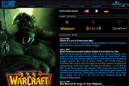 Blizzard Entertainment in 2002