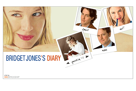 Bridget Jones's Diary in 2001