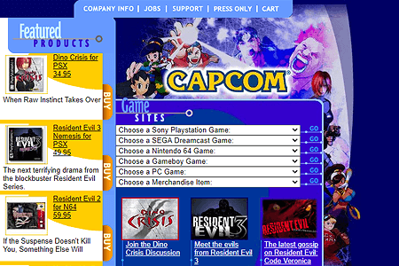 CAPCOM in 2000