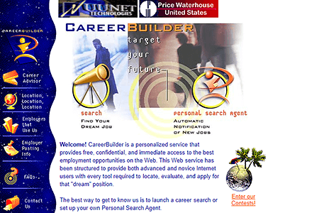 CareerBuilder in 1996