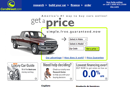 CarsDirect.com 2001