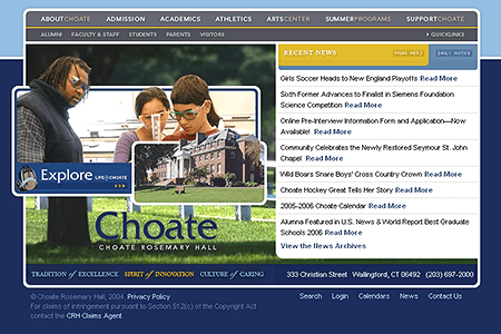 Choate Rosemary Hall 2005