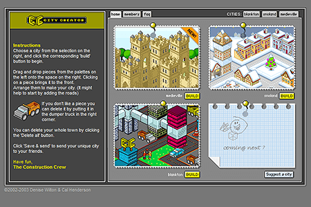 City Creator in 2003