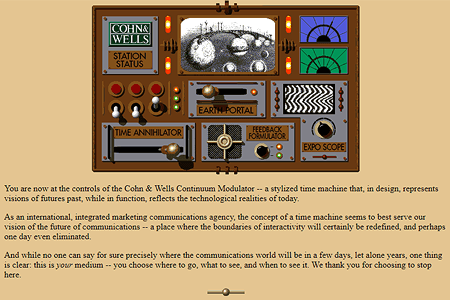 Cohn & Wells Continuum Modulator in 1995