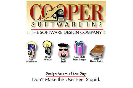 Cooper Software in 1997