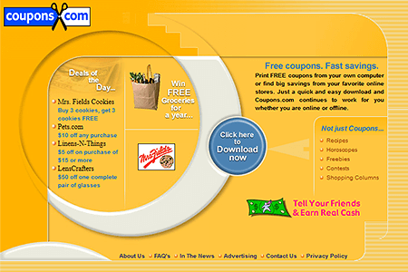 Coupons.com in 2000