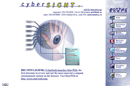 CyberSight in 1996
