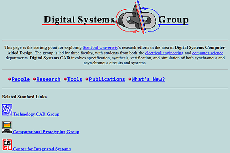 Digital Systems CAD Group in 1995