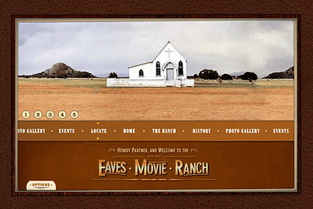 Eaves Movie Ranch in 2003