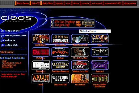Eidos Interactive in 1998
