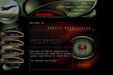 Empire Interactive in 1998